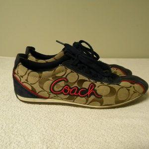 Authentic Coach Devin Signature Canvas Sneakers